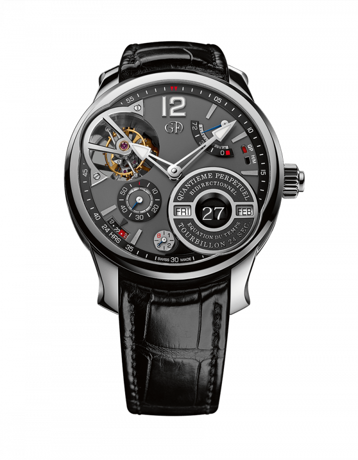 Greubel Forsey QP à équation with Rhodium-Coloured Gold Dial