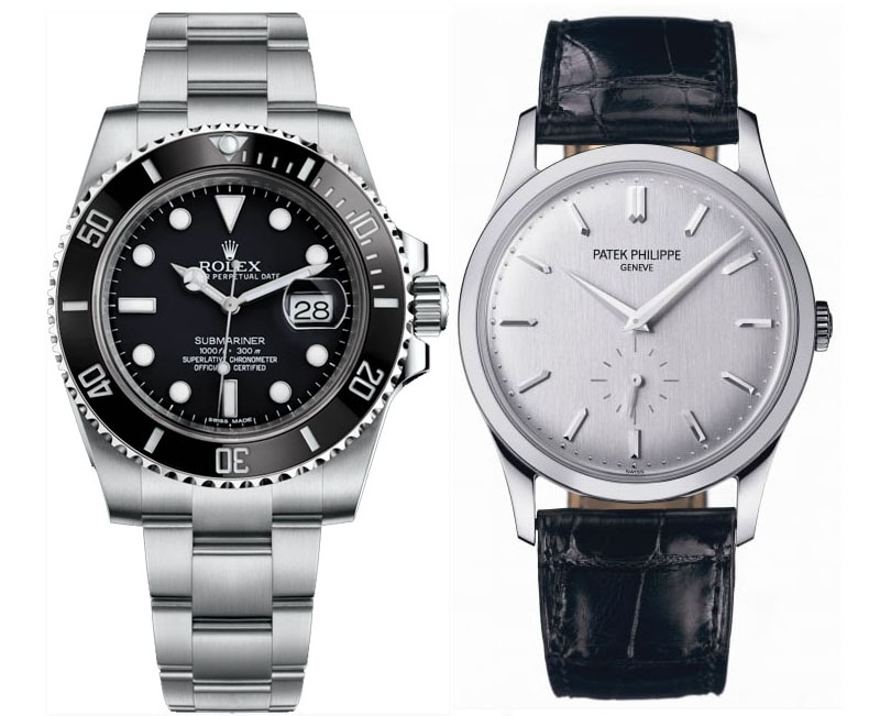Which watches to have in a 2 watch luxury collection?
