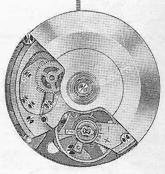 A Schild AS 1826 watch automatic movement