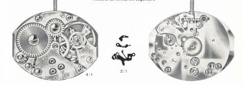 Enicar AR 678 watch movements