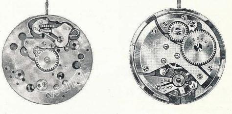 Peseux 385 watch movements