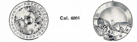 Felsa 4004 watch movements