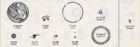 ETA 2804.2 watch date spare parts