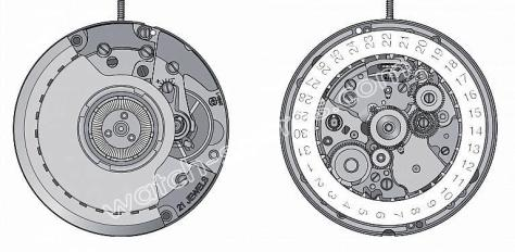 ETA 2893.3 watch movements