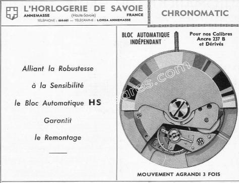 Lorsa 237B Automatic watch movements