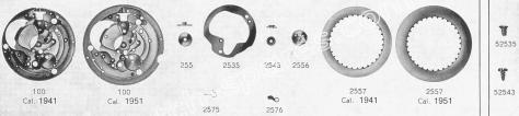 Standard ST 1803 watch date spare parts