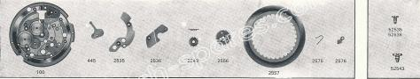 Standard ST 974 watch date spare parts