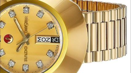Rado Men's Watches R12413493 Original Gold Dial