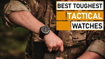 Toughest Military Tactical Watches for Men