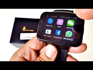 """DM98 Android Smart Watch 3G - Large 2.2"""" Screen - Is it any Good?"""