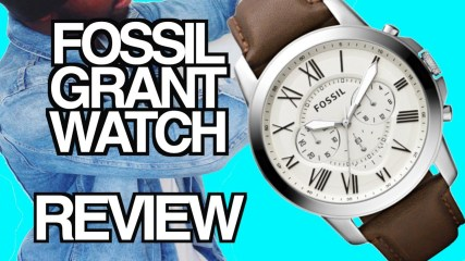 FOSSIL | GRANT CHRONOGRAPH | WATCH REVIEW - Men's Watches