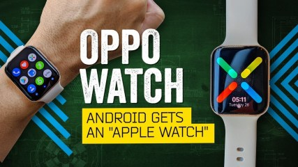 """Android Gets An """"Apple Watch"""": Oppo Watch Review"""