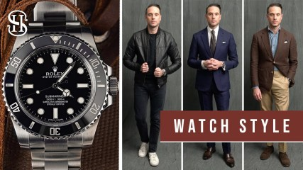 Rolex Submariner: 3 Ways To Style | Matching Watches To Outfits