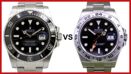 ▶ Rolex Submariner vs Explorer II 42mm GMT - COMPARISON