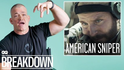 Navy SEAL Jocko Willink Breaks Down Combat Scenes From Movies   GQ