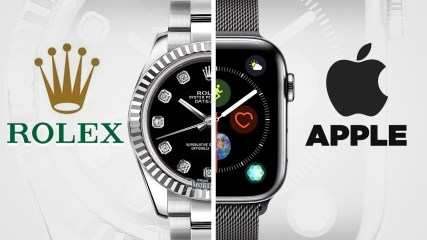 Rolex (Classic) vs. Apple (Smart) Watch - Style Battle Beatdown