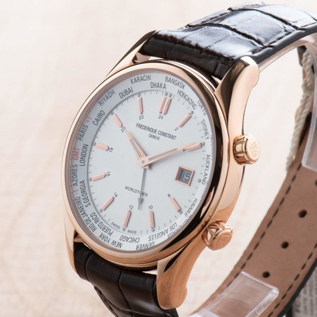 Frederique Constant Index Worldtimer FC-255V6B4