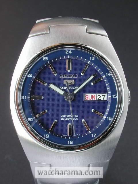 Seiko 5 Superior Blue