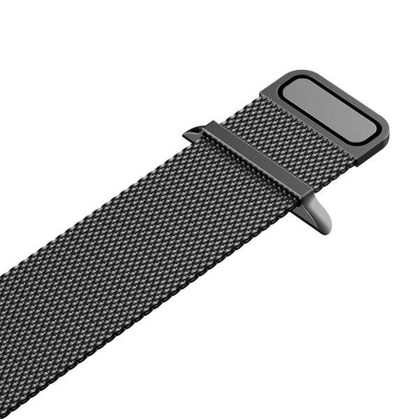 Milanese Loop rvs zwart bandje voor de Apple Watch 42mm-010