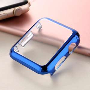 Case Cover Screen Protector blauw 4H Protected Knocks Watch Cases voor Apple watch voor iwatch 2-001
