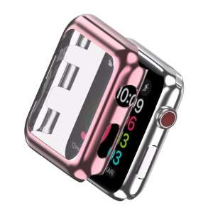 Case Cover Screen Protector rose goud 4H Protected Knocks Watch Cases voor Apple watch voor iwatch 2-005