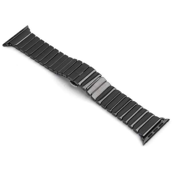 Keramische vervangend bandje voor Apple Watch iwatch Series 1-2-3 42mm zwart-002