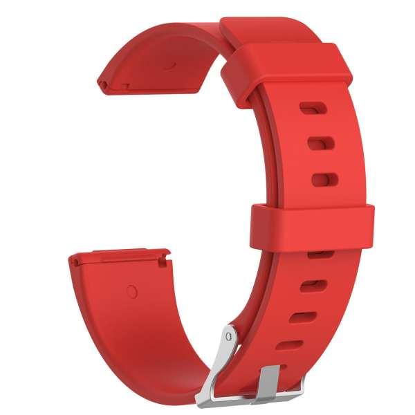 Luxe Siliconen Bandje large voor FitBit Versa – rood-003