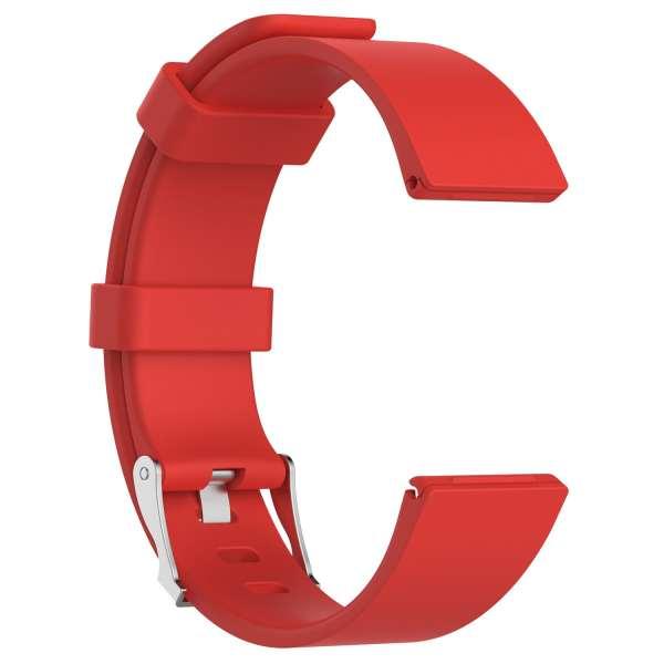 Luxe Siliconen Bandje large voor FitBit Versa – rood-004