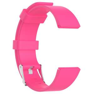 Luxe Siliconen Bandje large voor FitBit Versa – roze-004