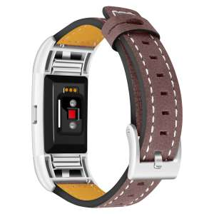 Fitbit Charge 2 bandjes leer bruin_003