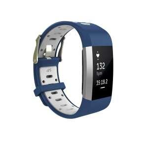 Fitbit charge 2 Sport bandje blauw - wit_003