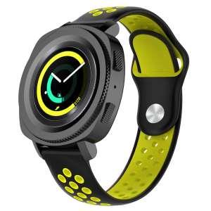 Samsung Gear Sport bandje zwart - geel_003