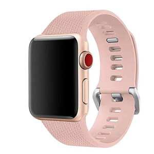 42mm en 44mm Sport bandje Vintage rose geschikt voor Apple watch 1 - 2 - 3 - 4 _003