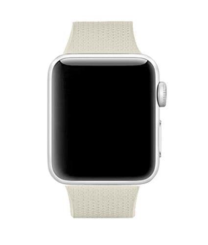 42mm en 44mm Sport bandje stone geschikt voor Apple watch 1 - 2 - 3 - 4 _002