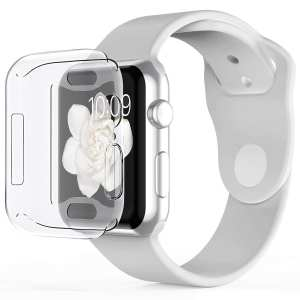 40mm beschermende Case Cover Protector Apple watch 4 transparant