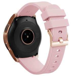 Samsung Gear Sport bandje Galaxy Watch 42mm SM-R810 Galaxy Watch 42mm SM-R810 silicone rose small_004