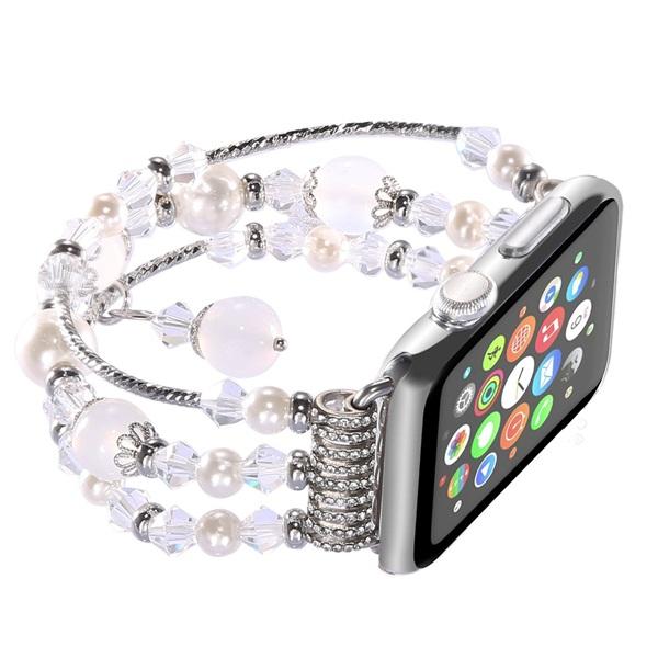 38MM Apple Watch Band Fashion Handmade Elastic Stretch