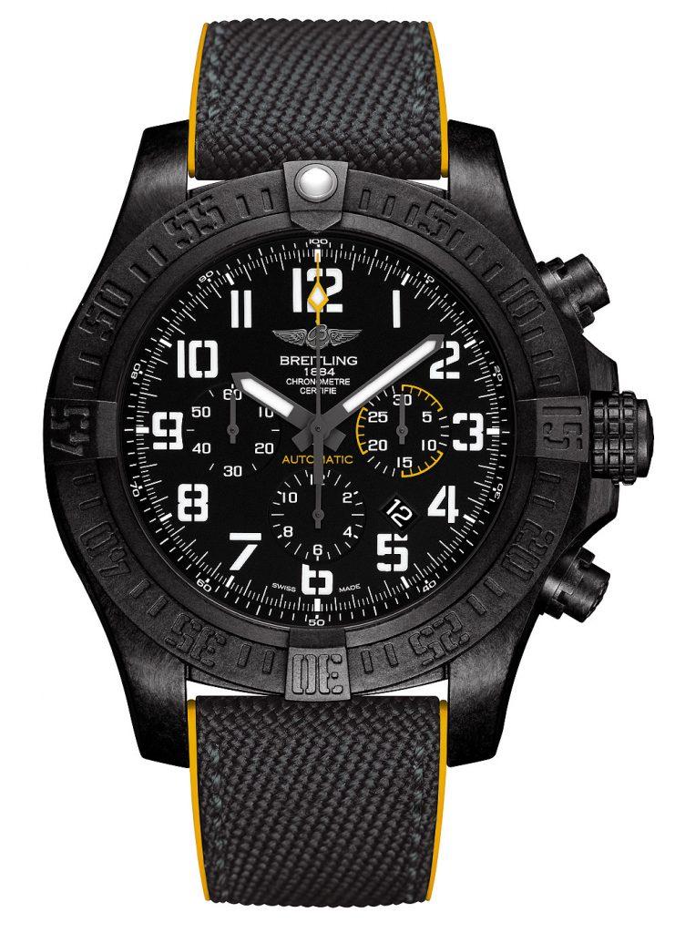 Breitling_Avenger_Hurricane_12-Hour_Black_Dial_front_1000
