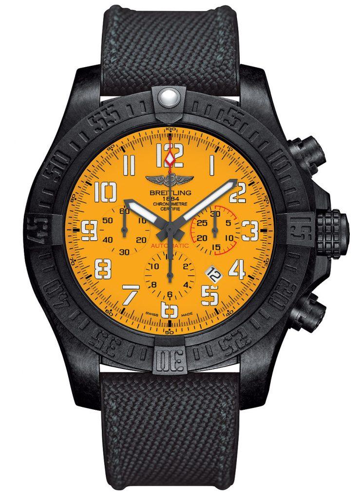 Breitling_Avenger_Hurricane_12-Hour_Yellow_Dial_1000