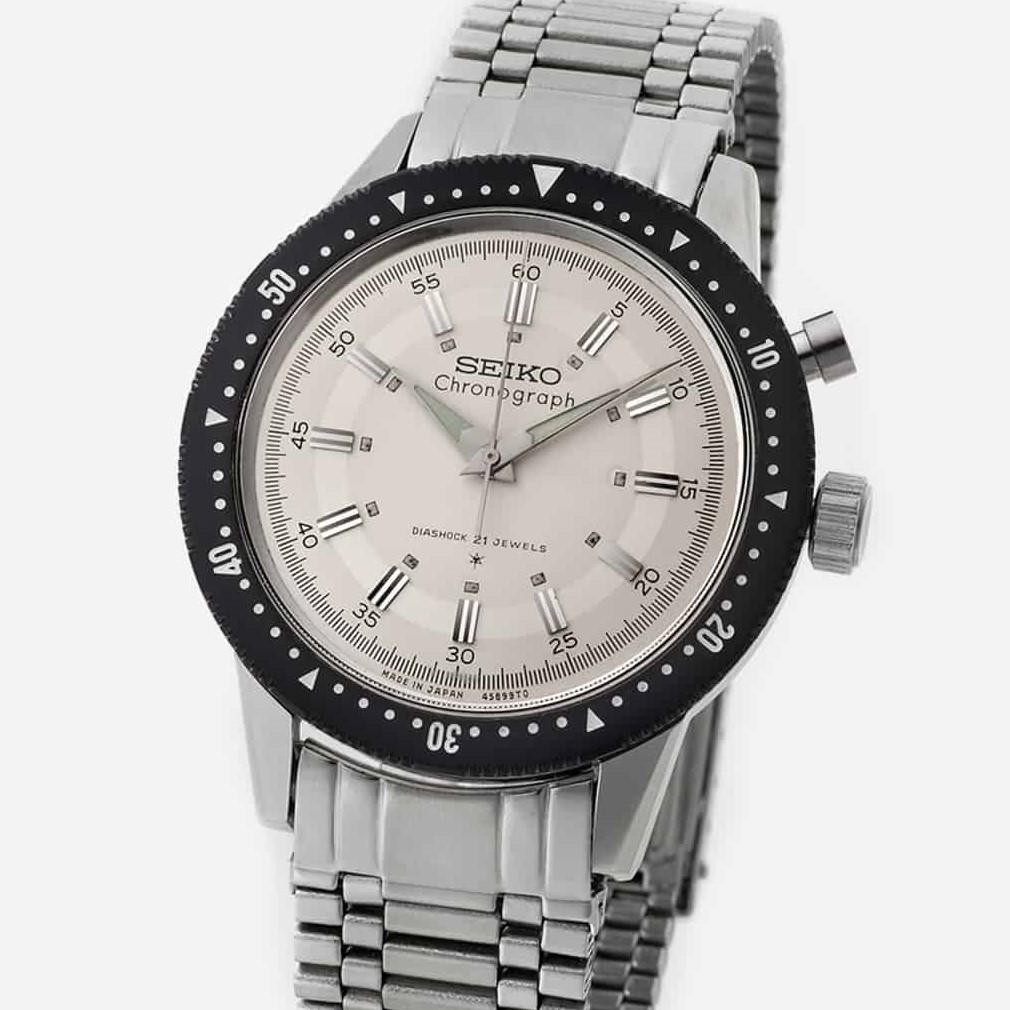 seikos first chronograph watch