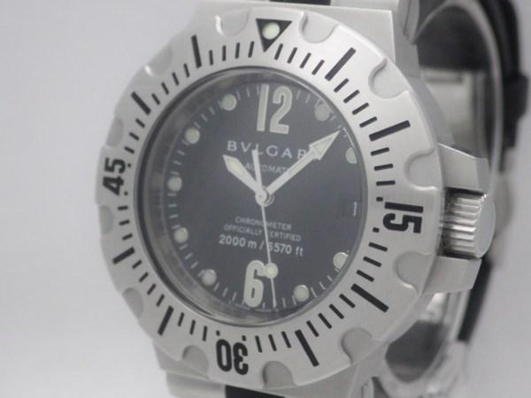 ブルガリ ディアゴノプロフェッショナルスクーバ SD42S CASE#2787