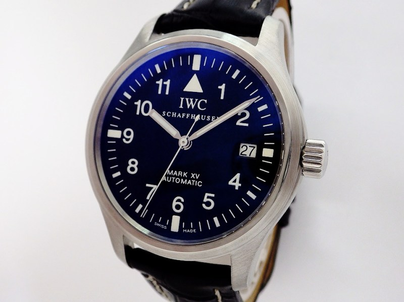 IWC マーク15 IW325301 CASE#8995