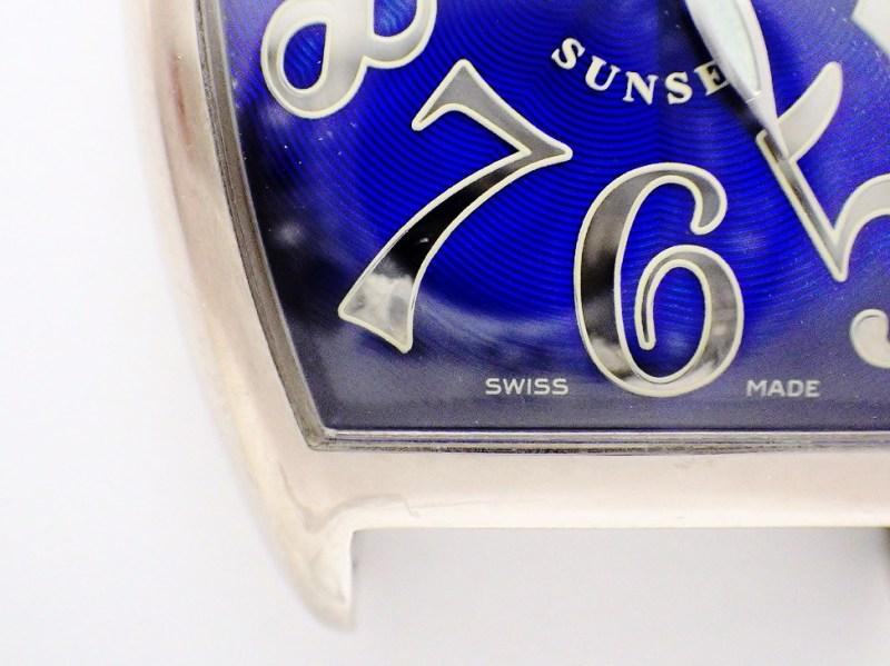 時計修理技術者コラムVol.12 ガラス接着剤の劣化~フランクミュラー・カルティエ編~