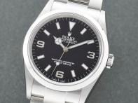 時計修理技術者コラムVol.37 ロレックスの新品仕上げ~エクスプローラー/114270ベゼル・裏蓋編~