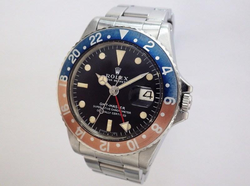 ロレックス GMTマスター 1675 CASE#11642