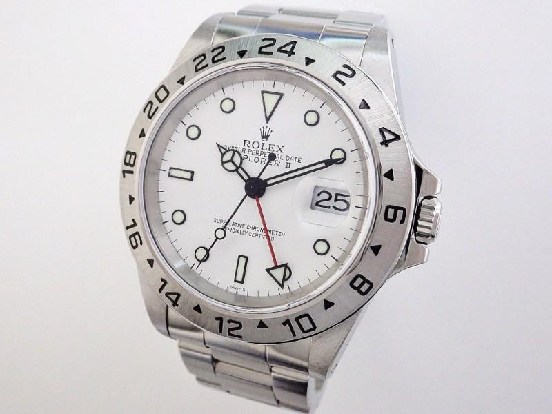ロレックス エクスプローラーⅡ 16570 CASE#11701