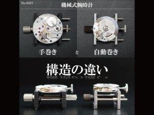 YouTubeNo.0021 機械式腕時計の手巻きと自動巻き構造の違い【4K】