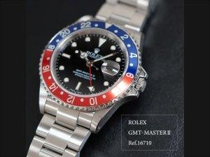 YouTubeNo.0025 オーバーホール実例 ≪後編≫ ~ROLEX GMT-MASTERⅡ Ref.16710~