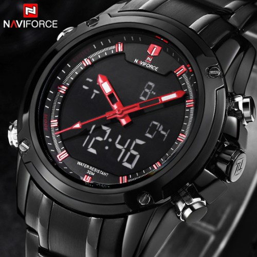Naviforce Luxury Brand Men Military Sports Watches