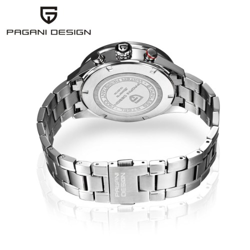 Pagani Design Steel Chrono Watch